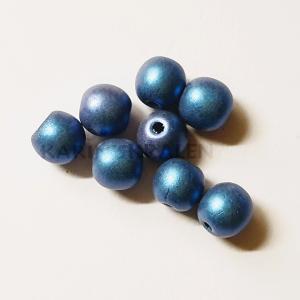 Kunststofkralen 5mm Blauw