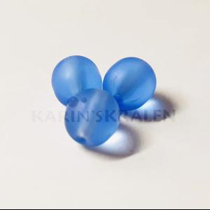 Glaskralen Blauw Rond 6mm