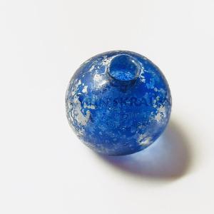 Glaskralen Blauw Rond 20mm